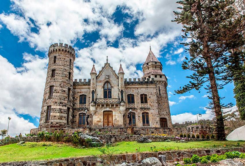 Castillo Marroquín, uno de los castillos de cuento en Colombia