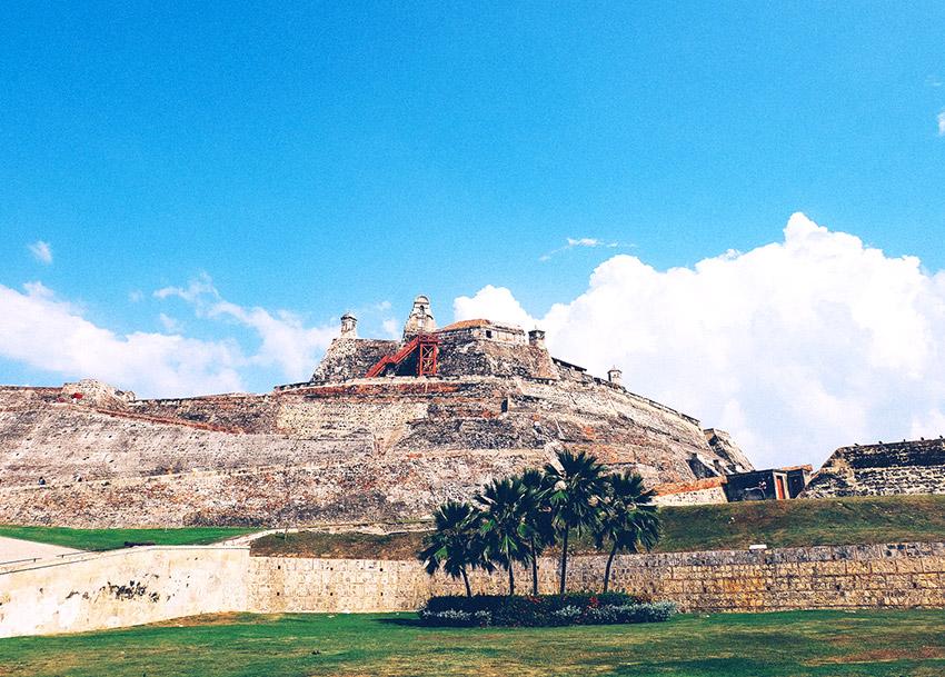 Castillo de San Felipe de Barajas, uno de los castillos de cuento en Colombia