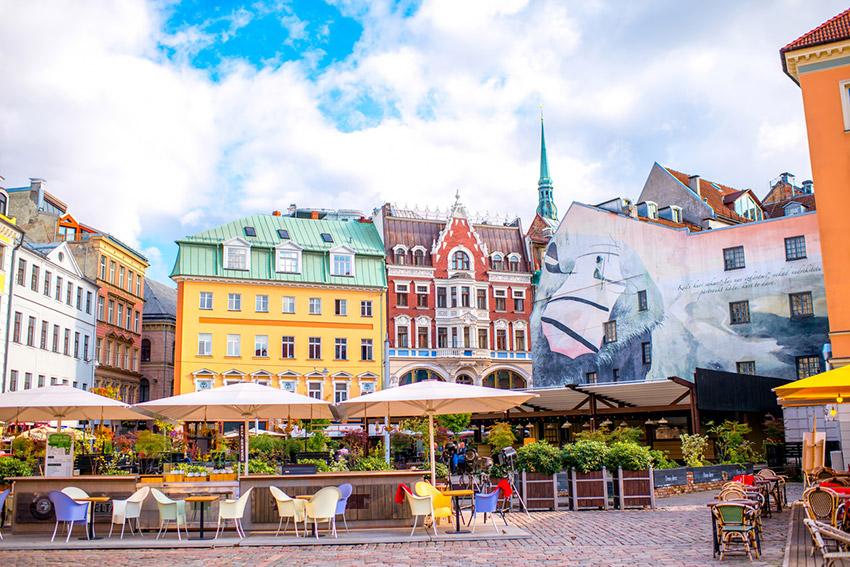 Riga, uno de los países baratos donde viajar en Europa