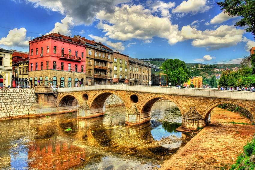Sarajevo, uno de los países baratos donde viajar en Europa