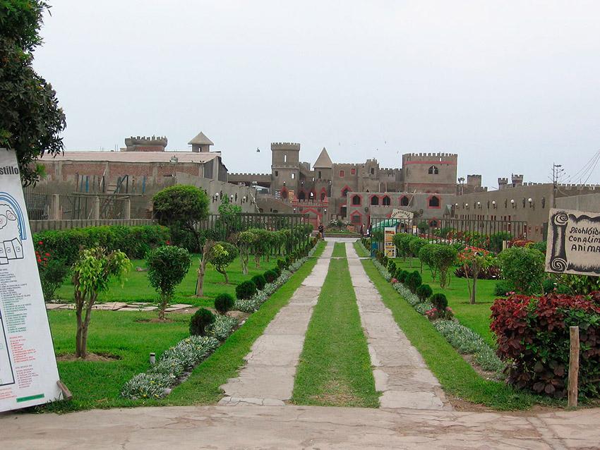 Castillo de Chancay, uno de los castillos de cuento en Perú