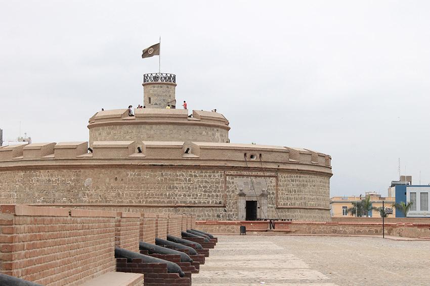 Fortaleza del Real Felipe, uno de los castillos de cuento en Perú