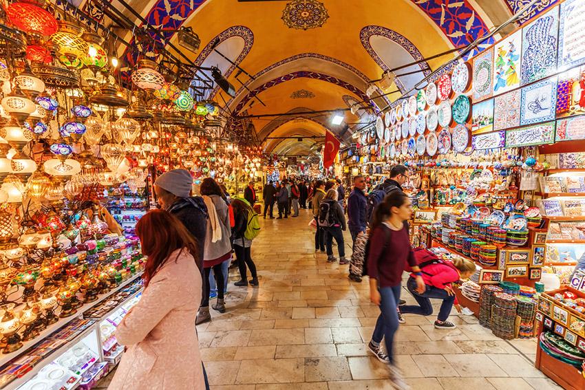 El Gran Bazar, una de las cosas gratis en Estambul