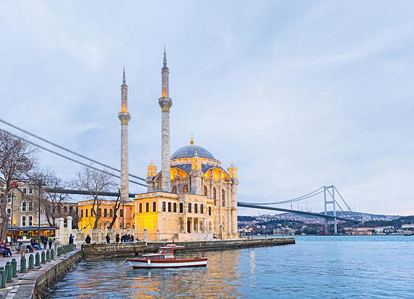 El Barrio de Ortaköy, una de las cosas gratis en Estambul