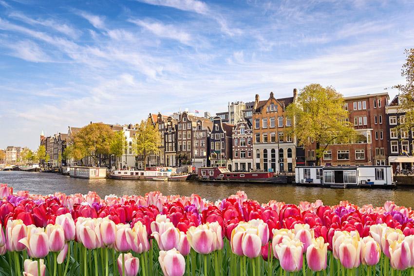 Ámsterdam, uno de los destinos para viajar con tus amigos este verano