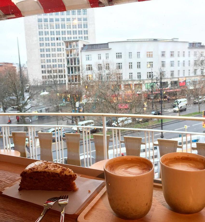 Café Kranzler, uno de los cafés de moda en Berlín