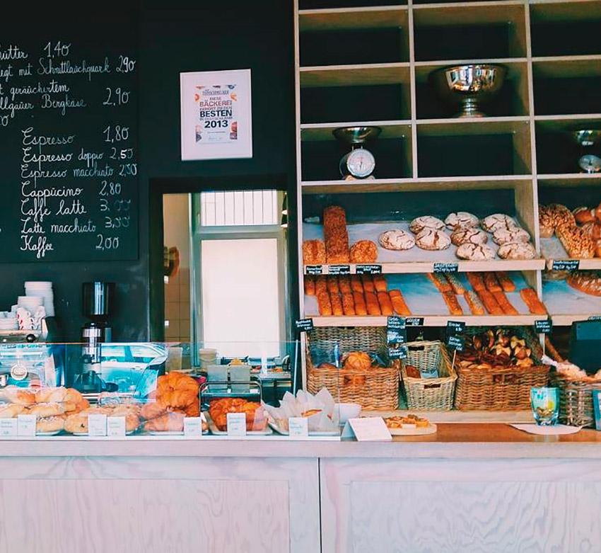 Alpenstueck Bäckerei, uno de los cafés de moda en Berlín