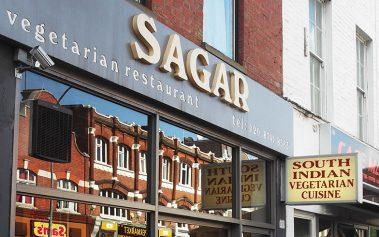 Donde comer barato en Londres: Sagar