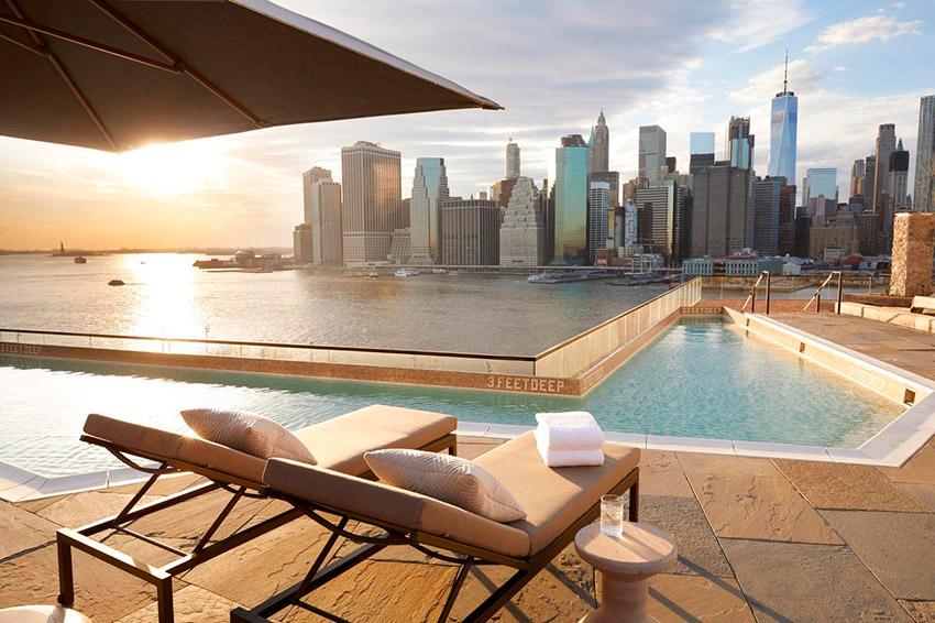 Hotel Brooklyn Bridge, uno de los hoteles de Nueva York con spa