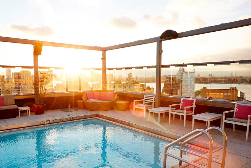 Gansevoort Meatpacking, uno de los hoteles de Nueva York con spa