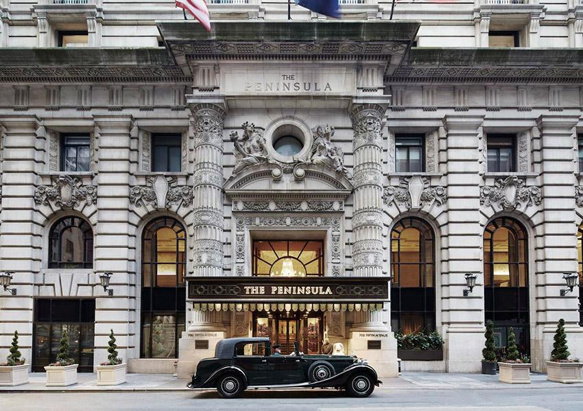 The Peninsula New York, uno de los hoteles de Nueva York con spa