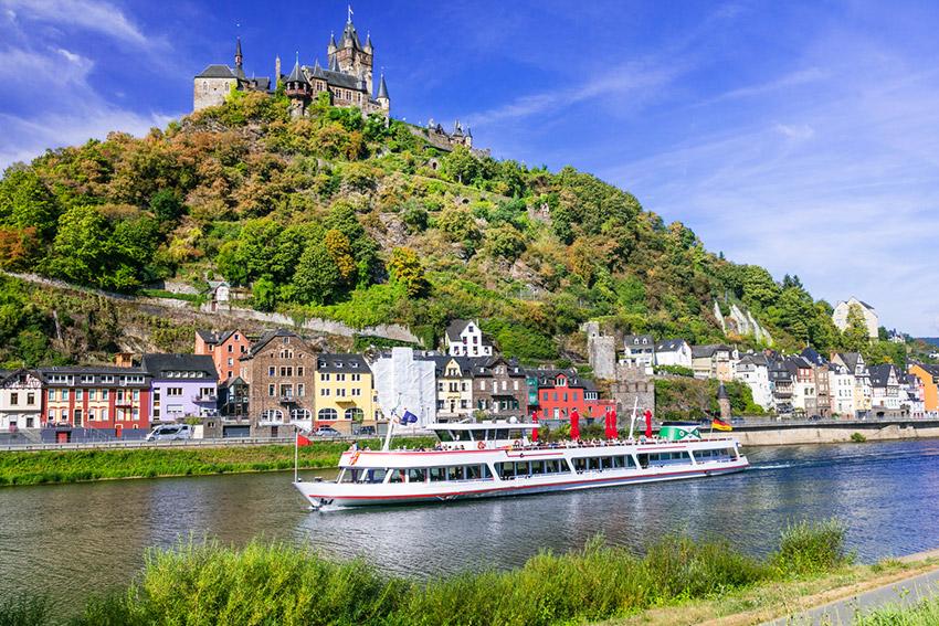 El crucero por el Rin, uno de los mejores cruceros fluviales
