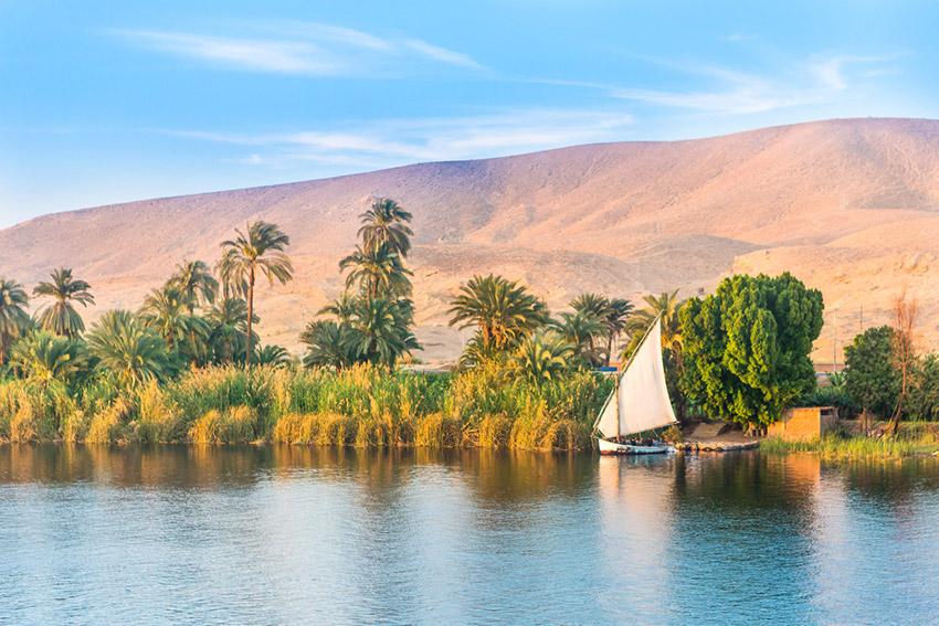 El crucero por el Nilo, uno de los mejores cruceros fluviales