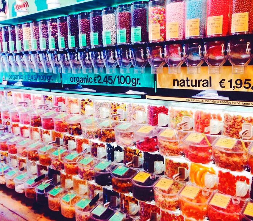 Candy Freaks, uno de los lugares de la ruta vegana en Ámsterdam