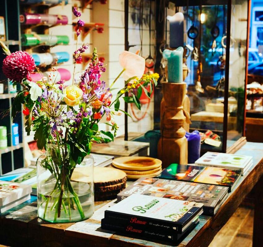 YAY Health Store & More, uno de los lugares de la ruta vegana en Ámsterdam