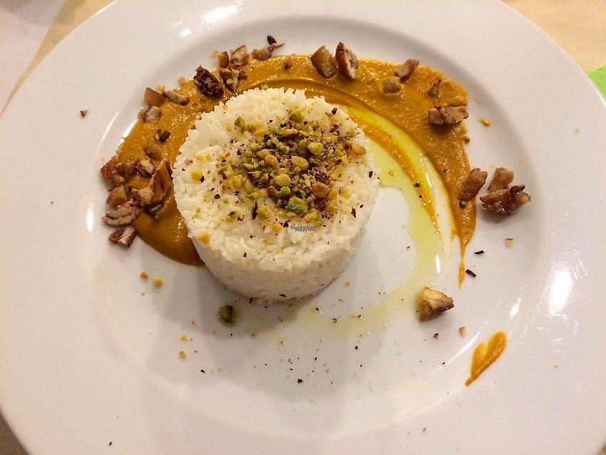 Capra Campa, uno de los restaurantes de la ruta vegana en Roma