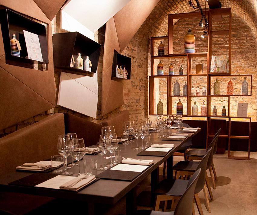 Le Bistrot, uno de los restaurantes de la ruta vegana en Roma