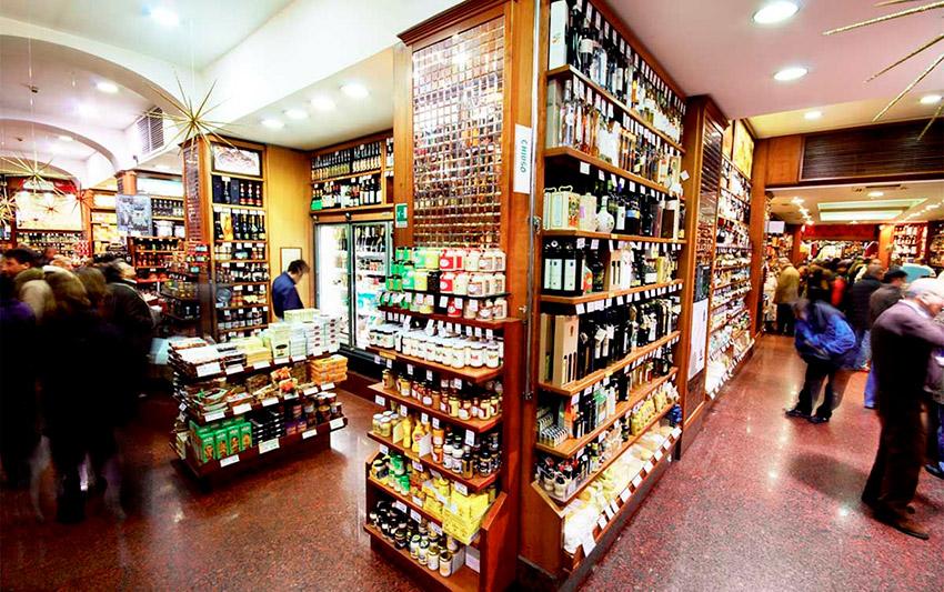 Castroni, una de las tiendas de la ruta vegana en Roma