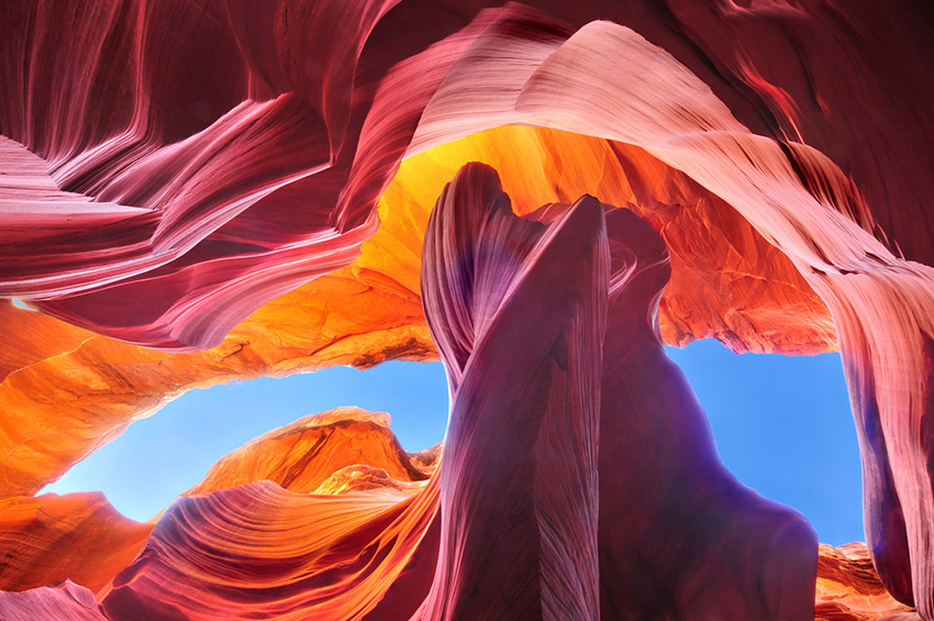 Antelope Canyon, una de las cuevas mágicas más increíbles del mundo