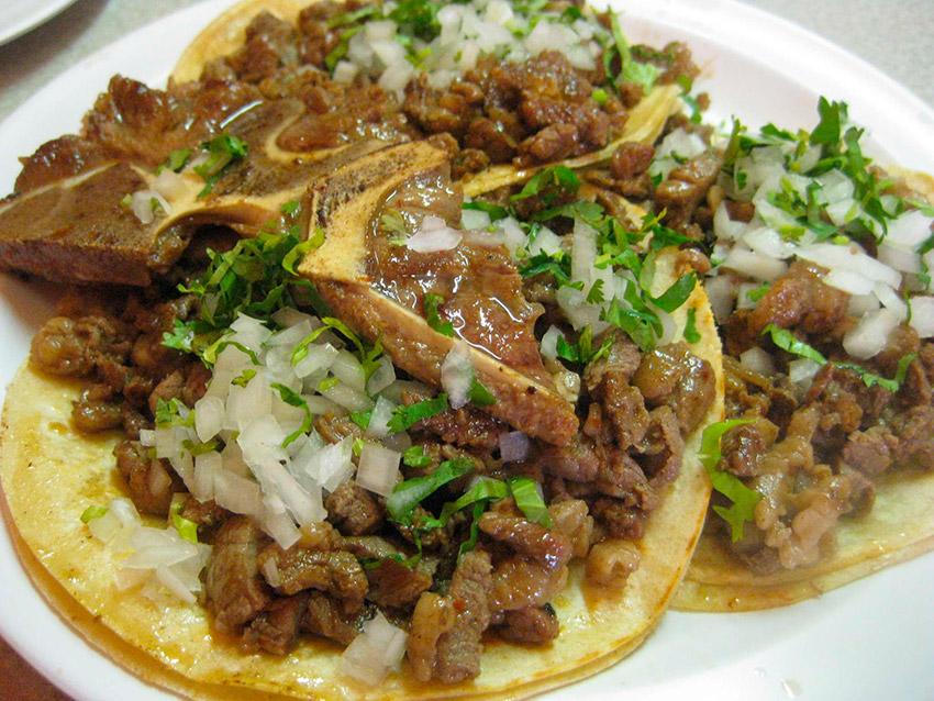 Tacos de ojo, una de las comidas extrañas en México