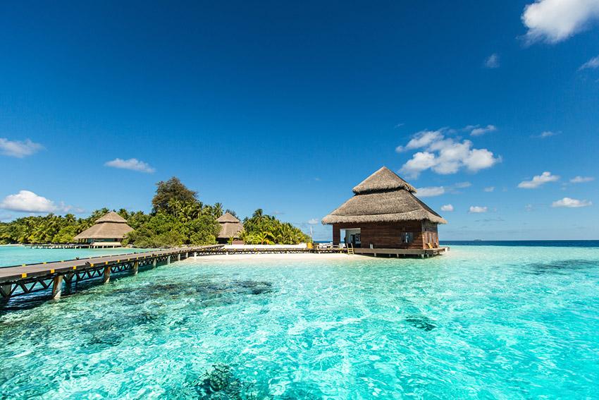 Islas Maldivas, uno de los destinos donde viajar solo en agosto