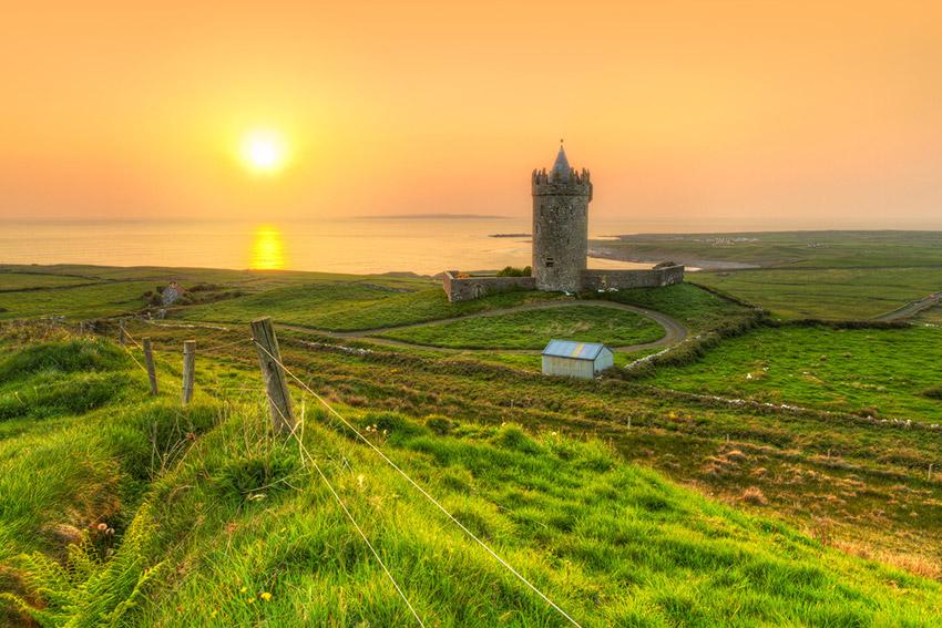 Irlanda, uno de los destinos donde viajar solo en agosto