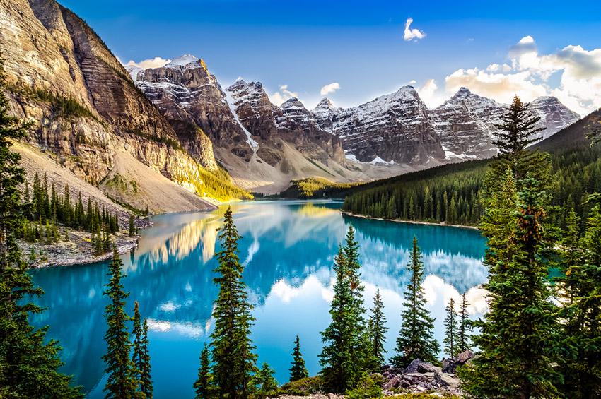 Canadá, uno de los destinos donde viajar solo en agosto