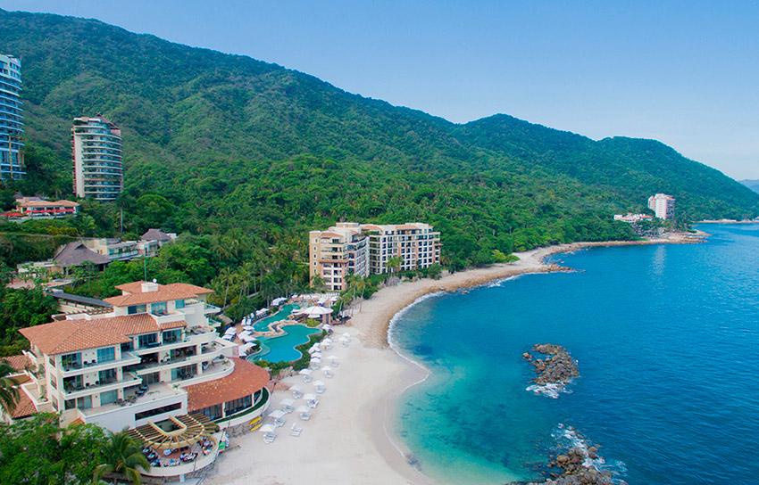 Playa Garza Blanca, una de las playas tranquilas en Puerto Vallarta