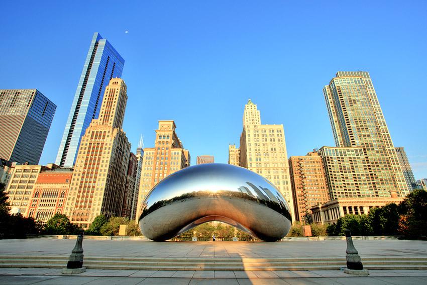 Chicago, uno de los destinos donde viajar en octubre en América