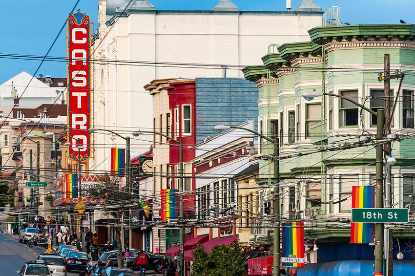 Barrio de Castro, uno de los barrios gay friendly en el mundo