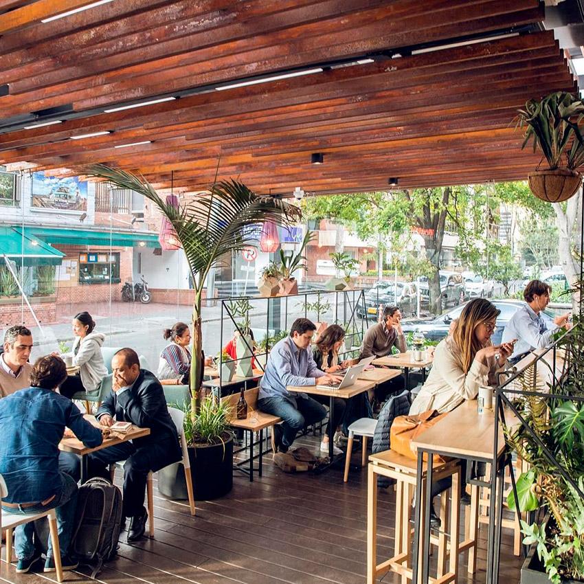 Azahar Coffee, uno de los cafés de moda en Bogotá