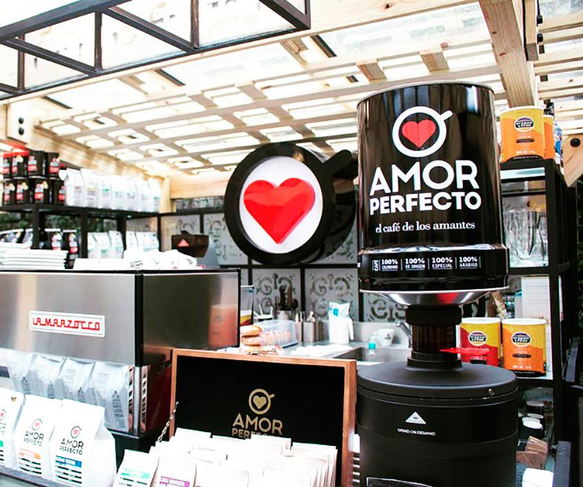 Amor Perefcto, uno de los cafés de moda en Bogotá
