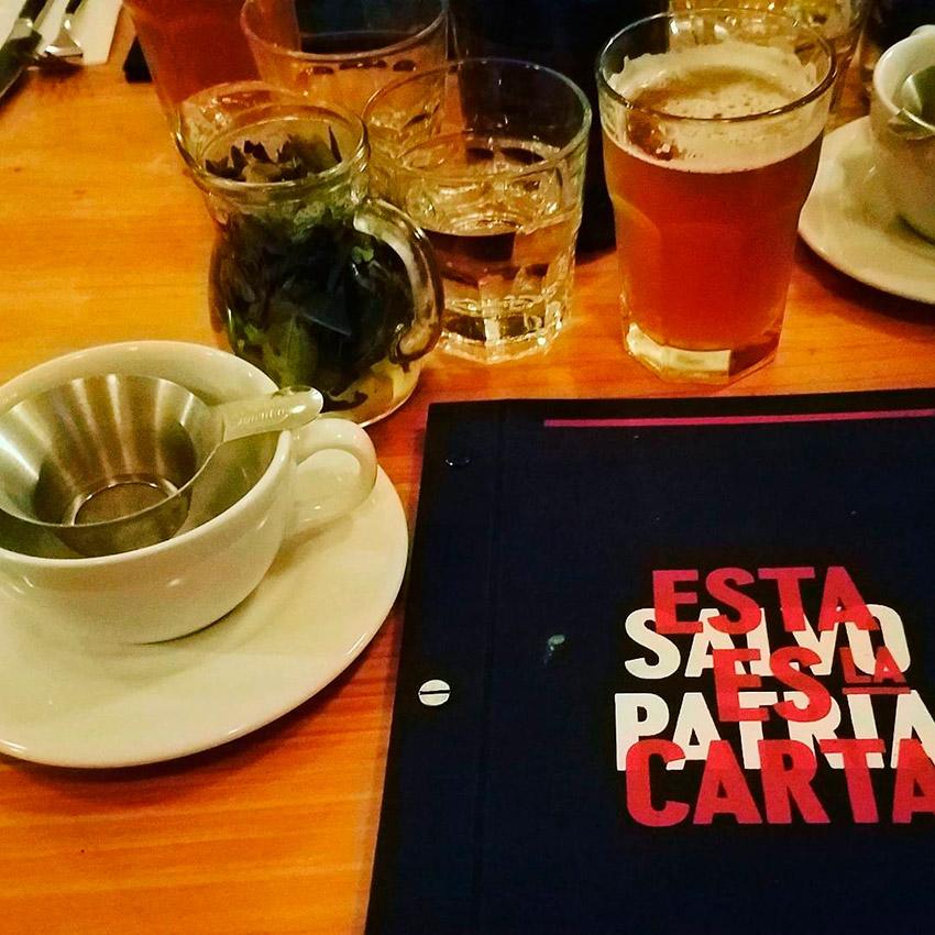 Salvo Patria, uno de los cafés de moda en Bogotá