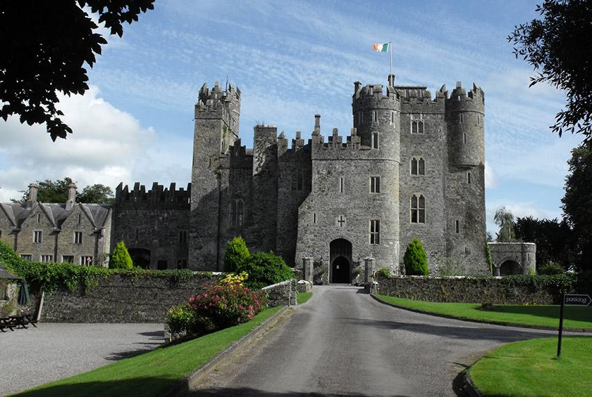 Castillo de Kilkea, uno de los castillos de cuento