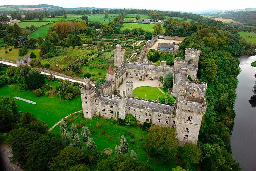 Lismore Castle, uno de los castillos de cuento