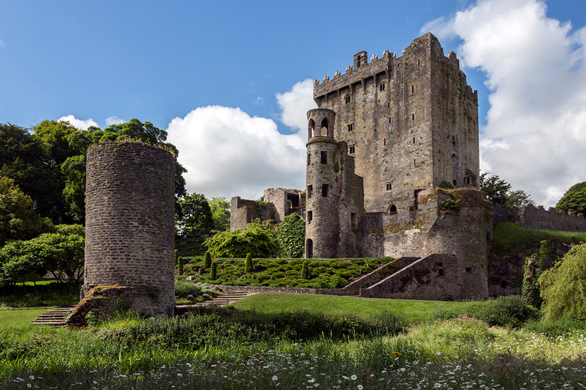 Castillo de Blarney, uno de los castillos de cuento