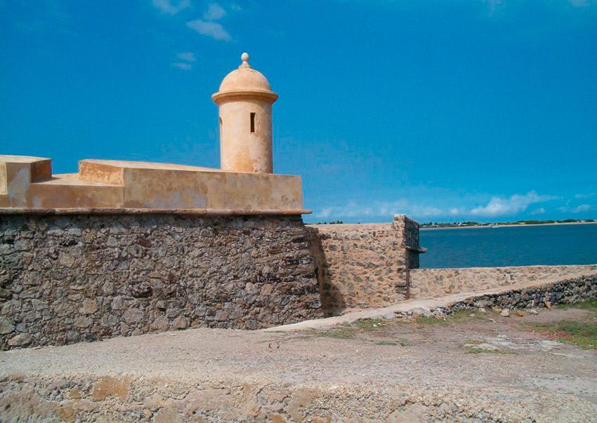 Castillo San Carlos de la Barra, uno de los castillos de cuento en Venezuela