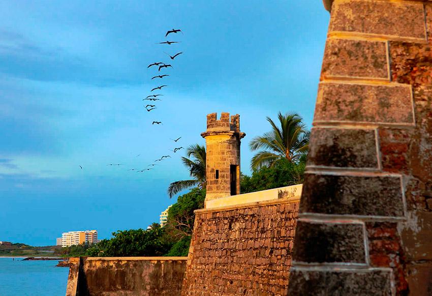 Castillo de San Carlos de Borromeo, uno de los castillos de cuento en Venezuela