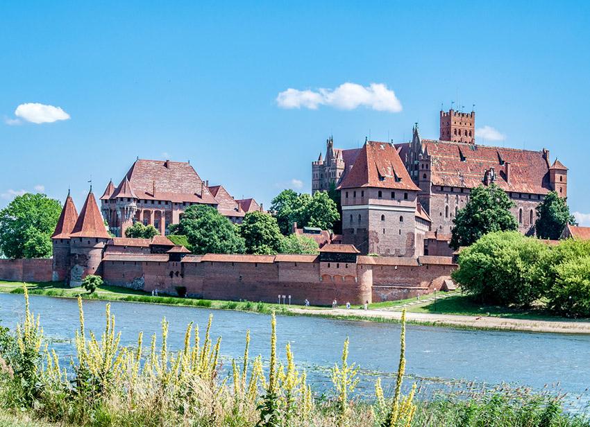 Castillo Malrbork, uno de los castillos de cuento imprescindibles en Polonia