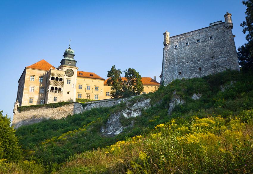 Pieskowa Skala, uno de los castillos de cuento imprescindibles en Polonia