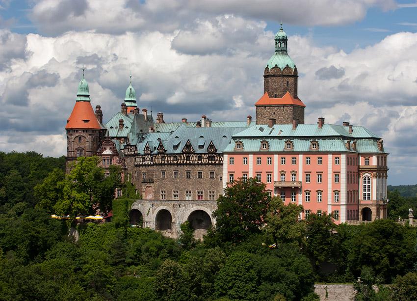 Castillo de Ksiaz, uno de los castillos de cuento imprescindibles en Polonia