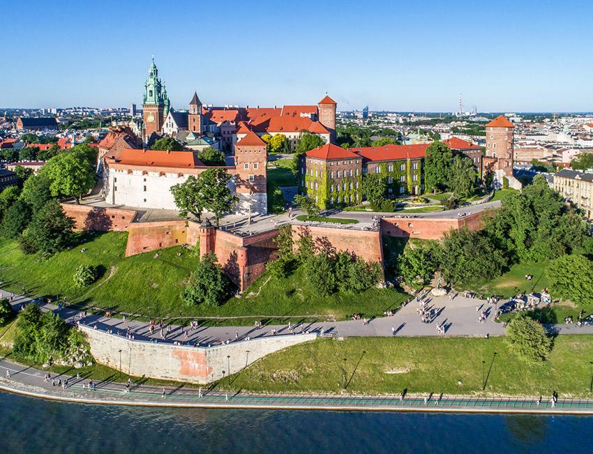 Castillo Real de Wawel, uno de los castillos de cuento imprescindibles en Polonia