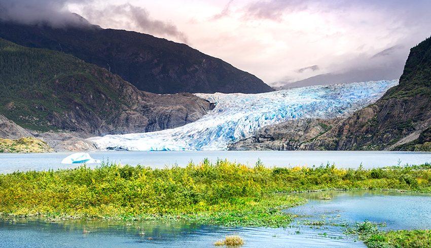 Cuevas Mágicas de Estados Unidos: el glaciar Mendenhall