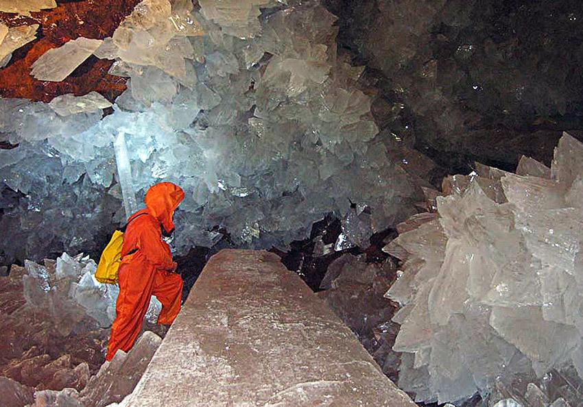 Cuevas mágicas: Naica