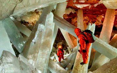 Cuevas mágicas: Naica, la cueva de cristales más grande del mundo