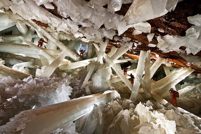 Cueva Naica, una de las cuevas mágicas en México