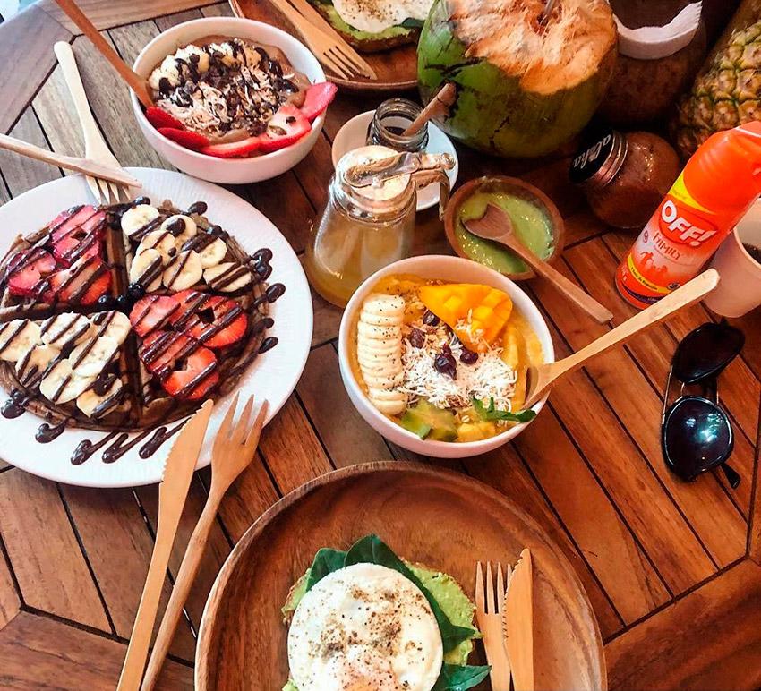 Aloha Raw Bar, uno de los restaurantes de la ruta vegana en Playa del Carmen