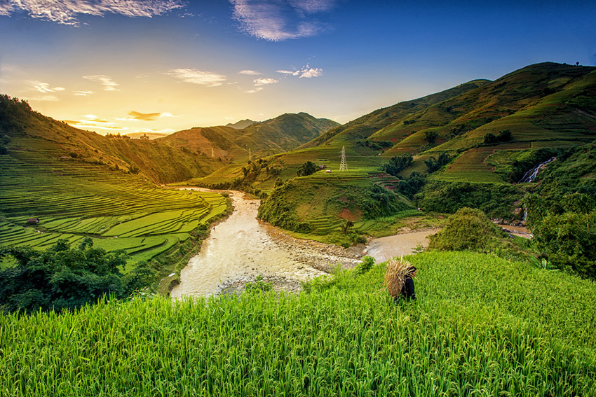 Uno de los lugares que visitar al viajar a Laos de mochilero