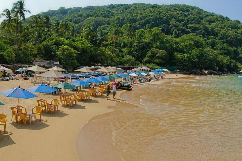 Majahua, una de las mejores playas para niños en México