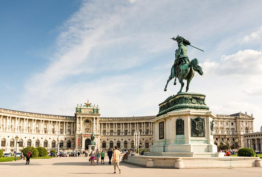 Palacio Hofburg, una de las cosas qué ver en Viena